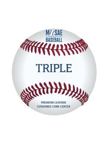 MOSAE SPORTS - TRIPLE BASEBALL 9 INCH